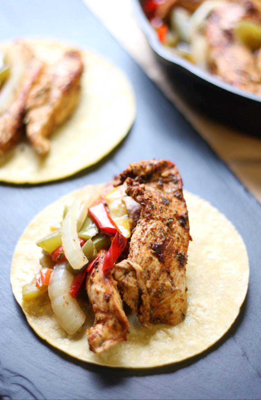 Easy Gluten Free Skillet Chicken Fajitas Allergy Free Paleo
