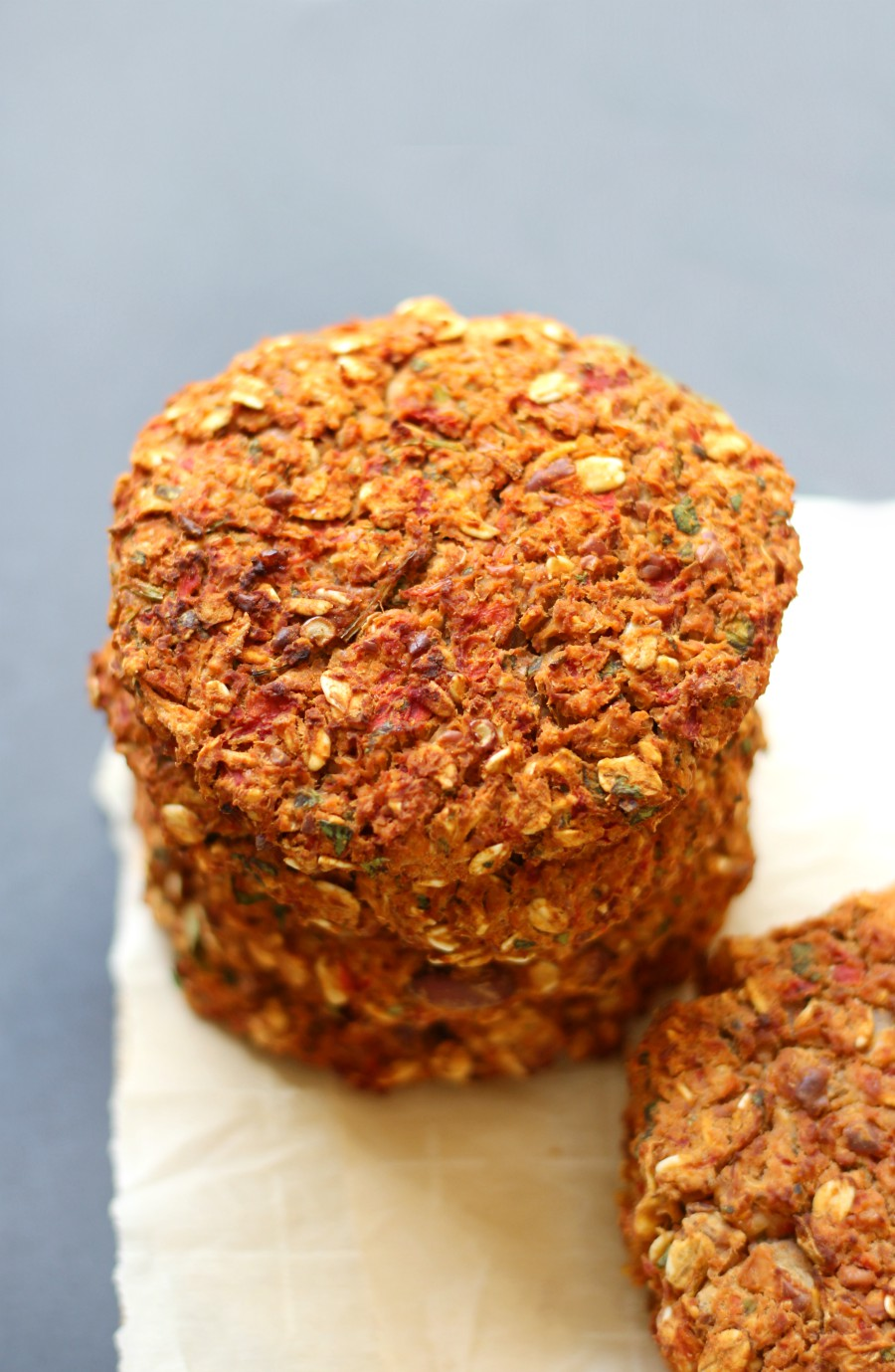 Spicy Vegan Celeriac Pinto Bean Burgers (Gluten-Free, Allergy-Free) | Strength and Sunshine @RebeccaGF666 A hearty meatless burger that will please even the biggest meat-eater! Spicy Vegan Celeriac Pinto Bean Burgers that are gluten-free, top 8 allergy-free, freezable, and won't fall apart! Loaded with smokey chipotle flavor, this healthy veggie burger recipe well be a star at the dinner table!