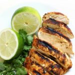 Grilled Chili Lime Chicken ( Gluten-Free, Paleo, Allergy-Free) | Strength and Sunshine @RebeccaGF666 You'll want this spicy and zesty recipe on the grill asap! Grilled Chili Lime Chicken that's a delicious healthy entree for your next bqq or cookout! It's gluten-free, paleo, and allergy-free; perfect for pleasing the crowd and awakening the taste buds! #grilledchicken #chililime #chicken #glutenfree #paleo #chililimechicken #strengthandsunshine