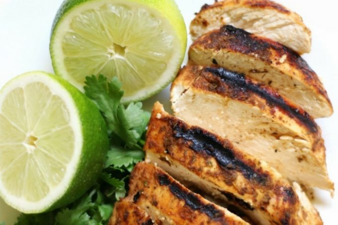 Grilled Chili Lime Chicken ( Gluten-Free, Paleo, Allergy-Free)   Strength and Sunshine @RebeccaGF666 You'll want this spicy and zesty recipe on the grill asap! Grilled Chili Lime Chicken that's a delicious healthy entree for your next bqq or cookout! It's gluten-free, paleo, and allergy-free; perfect for pleasing the crowd and awakening the taste buds! #grilledchicken #chililime #chicken #glutenfree #paleo #chililimechicken #strengthandsunshine