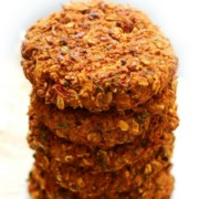 Spicy Vegan Celeriac Pinto Bean Burgers (Gluten-Free, Allergy-Free)   Strength and Sunshine @RebeccaGF666 A hearty meatless burger that will please even the biggest meat-eater! Spicy Vegan Celeriac Pinto Bean Burgers that are gluten-free, top 8 allergy-free, freezable, and won't fall apart! Loaded with smokey chipotle flavor, this healthy veggie burger recipe well be a star at the dinner table! #beanburger #veggieburger #pintobeans #glutenfree #vegan #strengthandsunshine