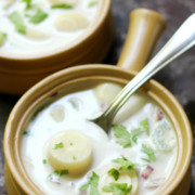 "New England Vegan ""Clam"" Chowder (Gluten-Free, Allergy-Free) 
