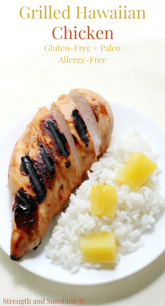 Easy Gluten-Free Grilled Hawaiian Chicken (Paleo, Allergy-Free)