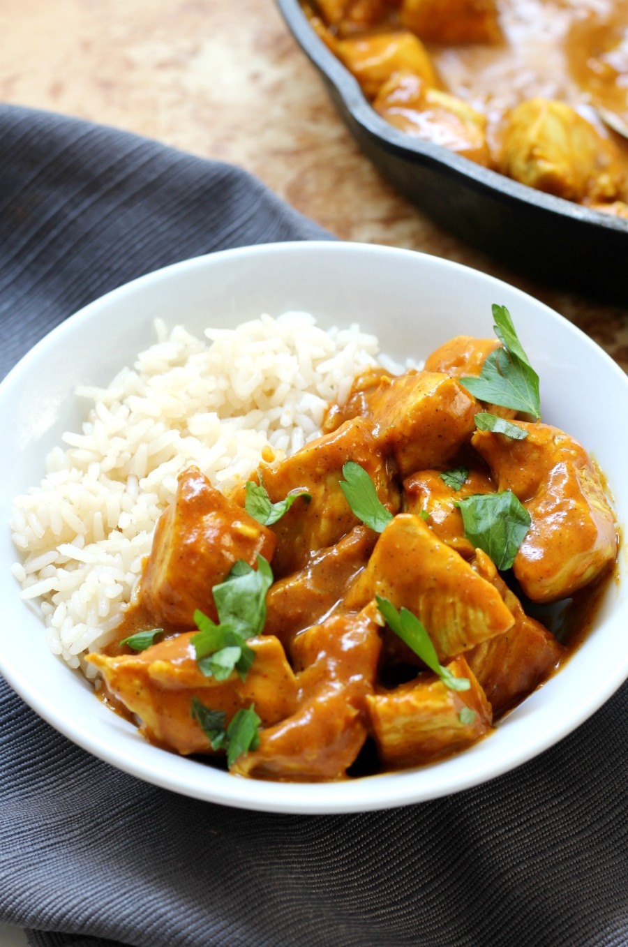 indian-butter-chicken-corner-skillet