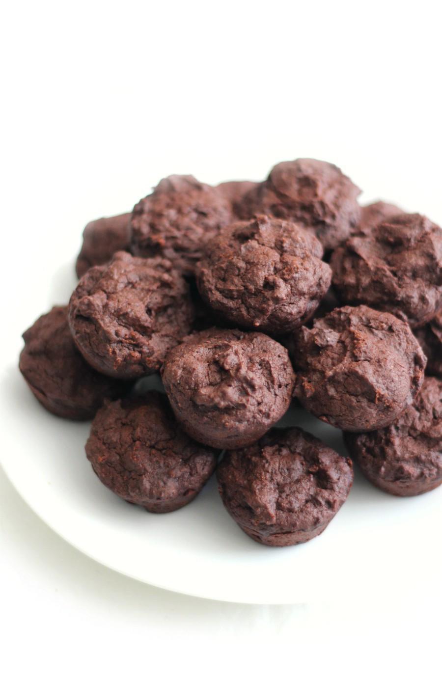 side-plate-gluten-free-brownie-bites