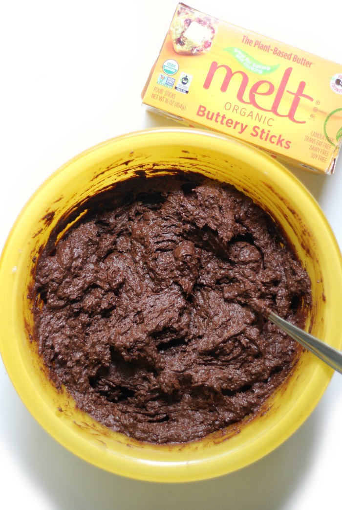 mixing-brownie-batter-in-bowl