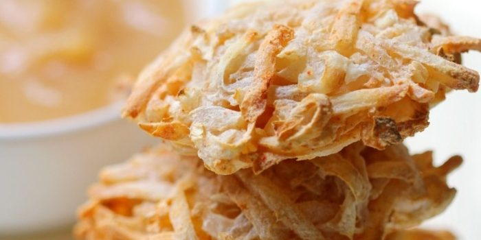 Crispy Air Fryer Gluten-Free Vegan Potato Latkes (Allergy-Free, Paleo)