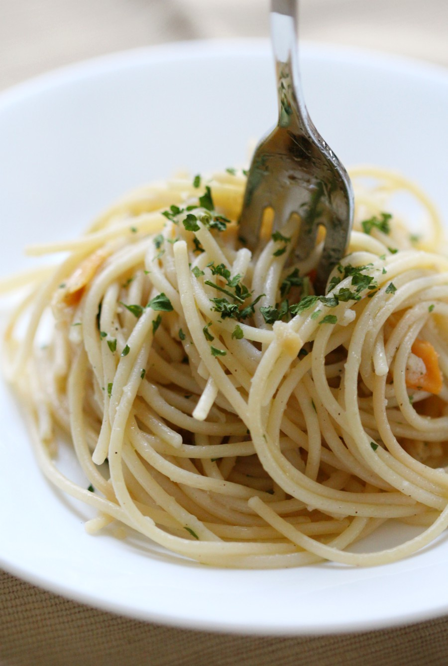 fork-upright-in-pasta-clam-sauce