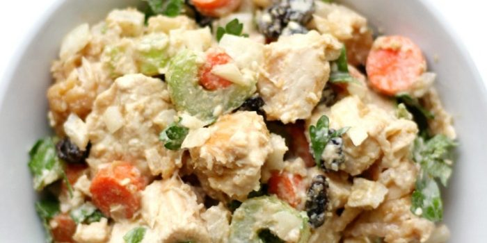Easy Gluten-Free Paleo Tahini Chicken Salad (Allergy-Free)