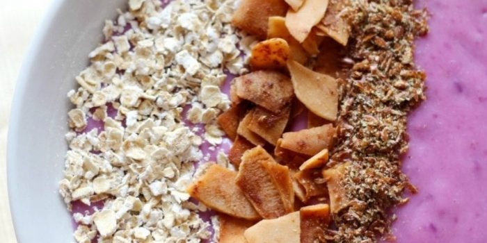 Purple Sweet Potato Yogurt Breakfast Bowl (Gluten-Free, Vegan, Paleo)