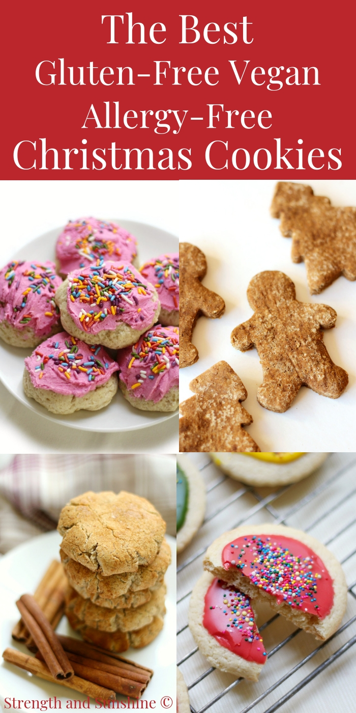 The Best Gluten Free Vegan Allergy Free Christmas Cookie Recipes
