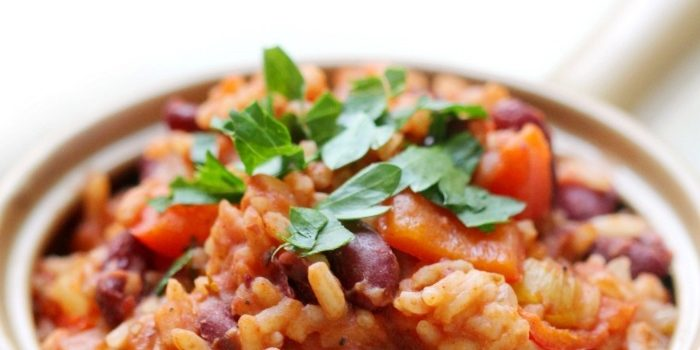 Easy One-Pot Vegan Gluten-Free Louisiana Red Beans & Rice (Allergy-Free)