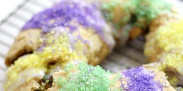 New Orleans Gluten-Free King Cake (Vegan, Allergy-Free)