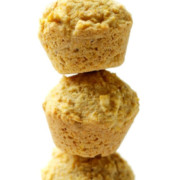 three-stacked-mini-gluten-free-cornbread-muffin-bites-pin