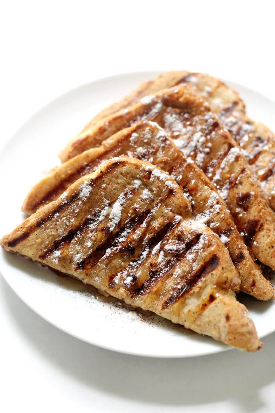perfectly grilled gluten-free french toast