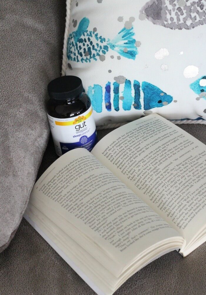 open book and Sleep Connection Supplement