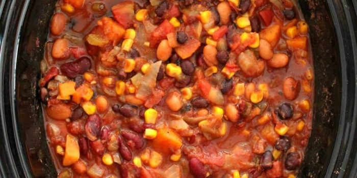 Easy Slow Cooker Vegan Chili (Gluten-Free, Allergy-Free)