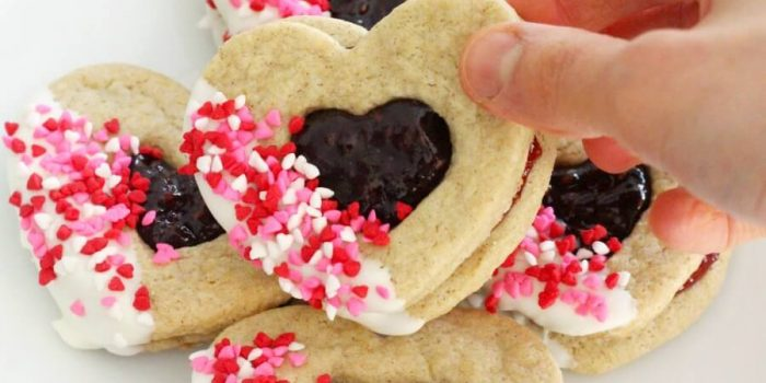 Gluten-Free Valentine's Day Heart Cookies (Vegan, Allergy-Free)