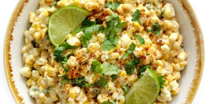 Vegan Mexican Street Corn Salad (Gluten-Free, Allergy-Free)
