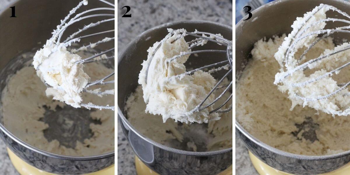 creaming process for homemade irish potato candy