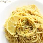 plasted vegan pasta al limone with image text